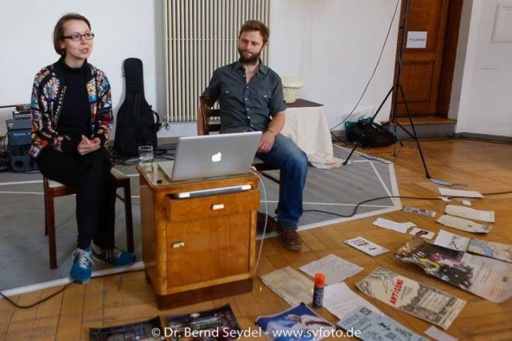 Ins Blaue beim DADO VI Kunstfestival in Gotha