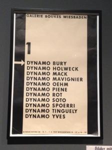 Internationale Künstlergruppe Zero in den 50er Jahren auch in Wiesbaden